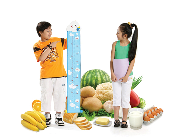 Phát triển chiều cao nhờ dinh dưỡng