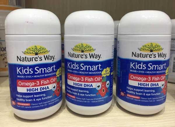 Dầu cá Kids Smart Omega 3